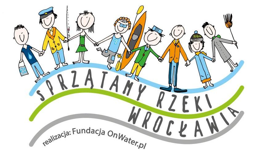Sprzątanie Rzek Wrocławia 2016 - fundacja OnWater.pl