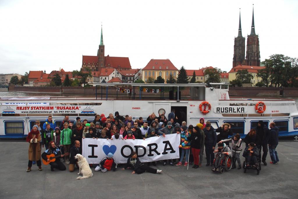 Rejs po Odrze z warsztatami edukacyjnymi Fundacji OnWater.pl