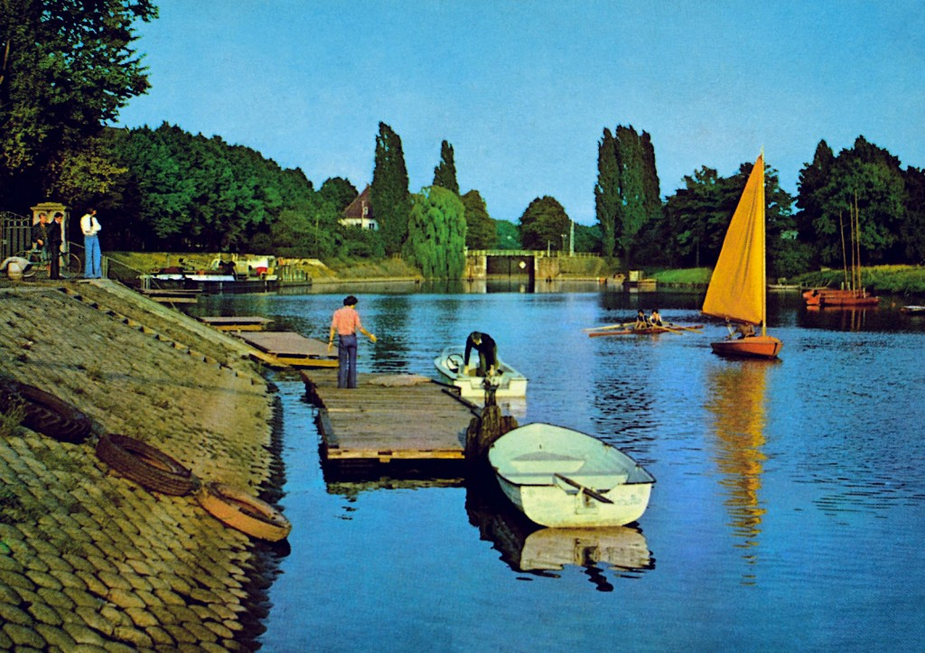 Szczytniki Lock in the 70s.