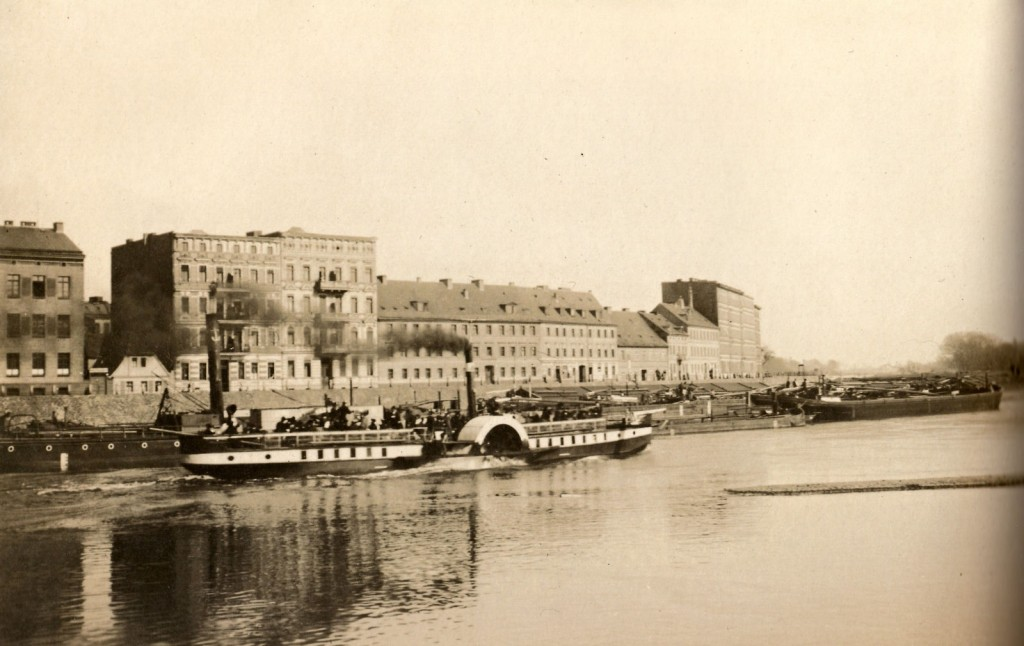 Wyspiański Shore around 1900.
