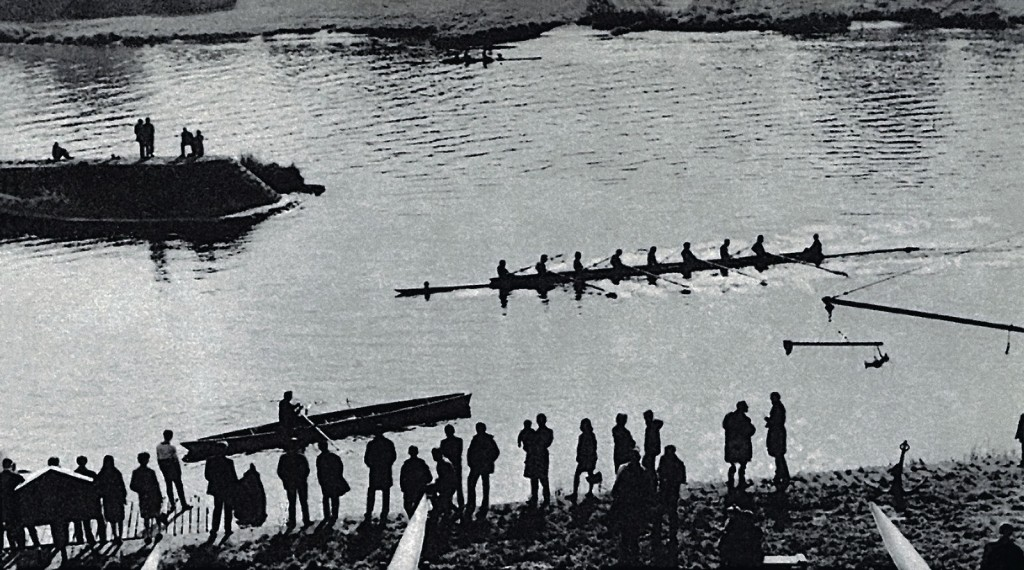 Rowing regattas.