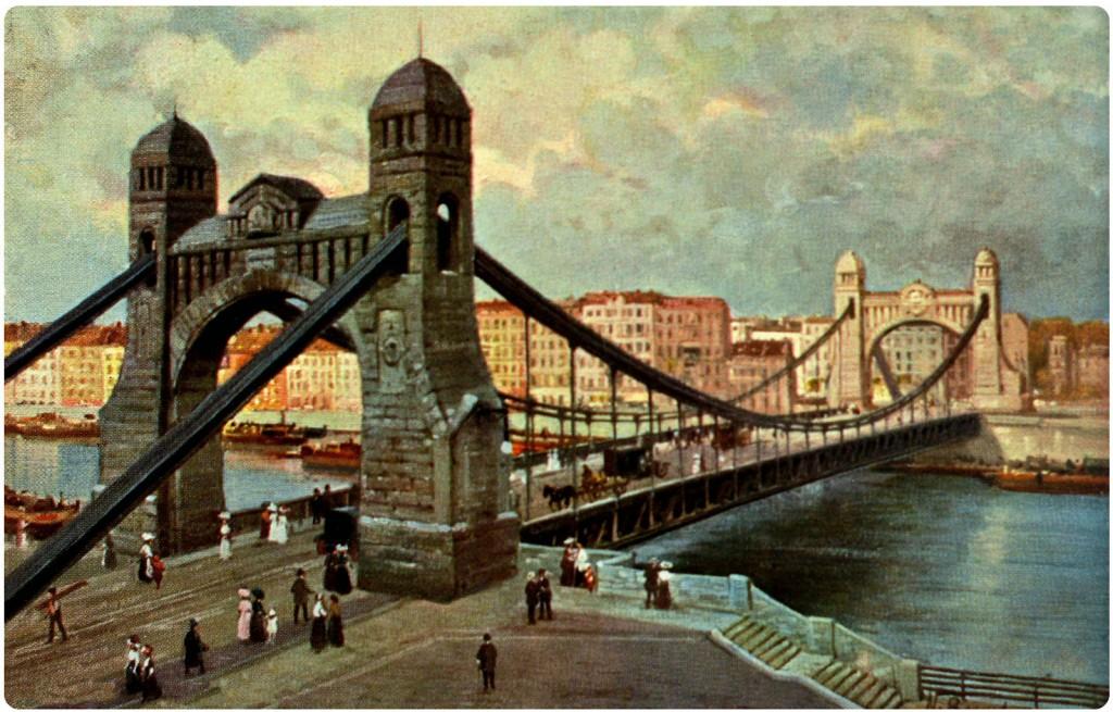 Grunwaldzki Bridge, one of the greatest bridges in Poland.