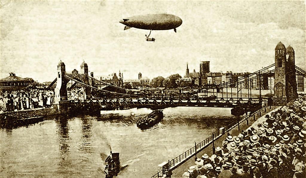 Ceremonial opening of the bridge, 10.10.1910.