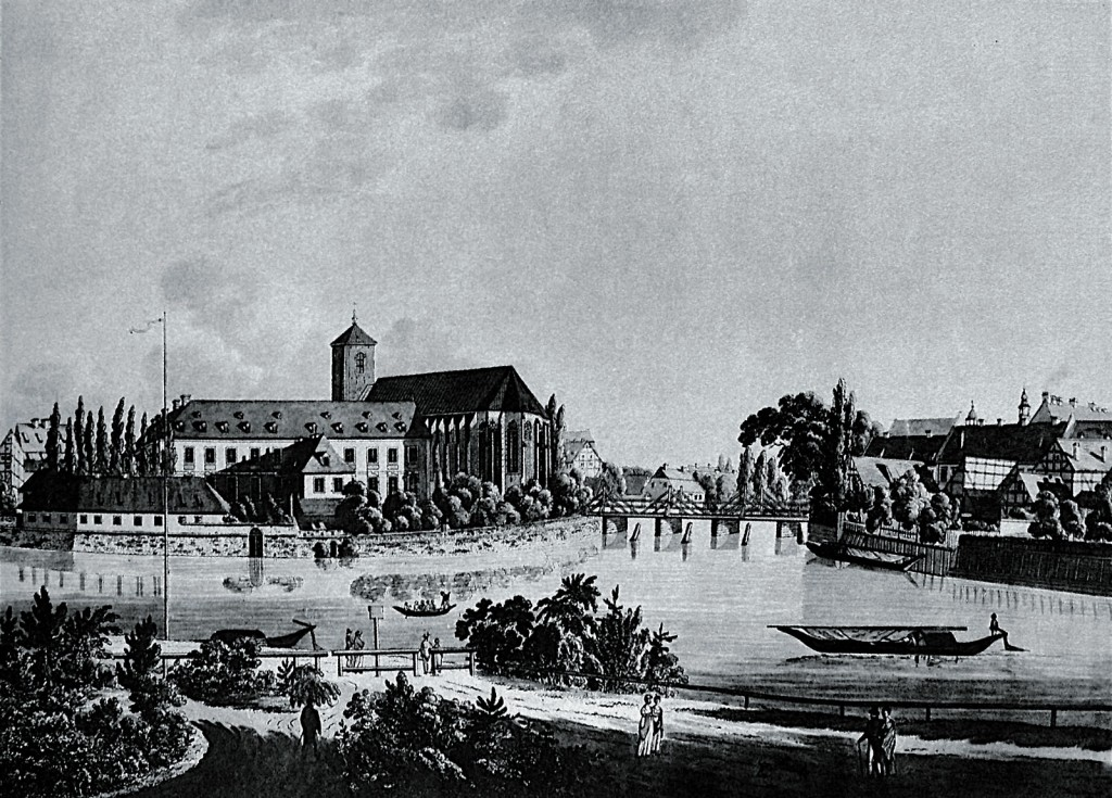 A view of the boulevard on the Sand Island 1820-1840.