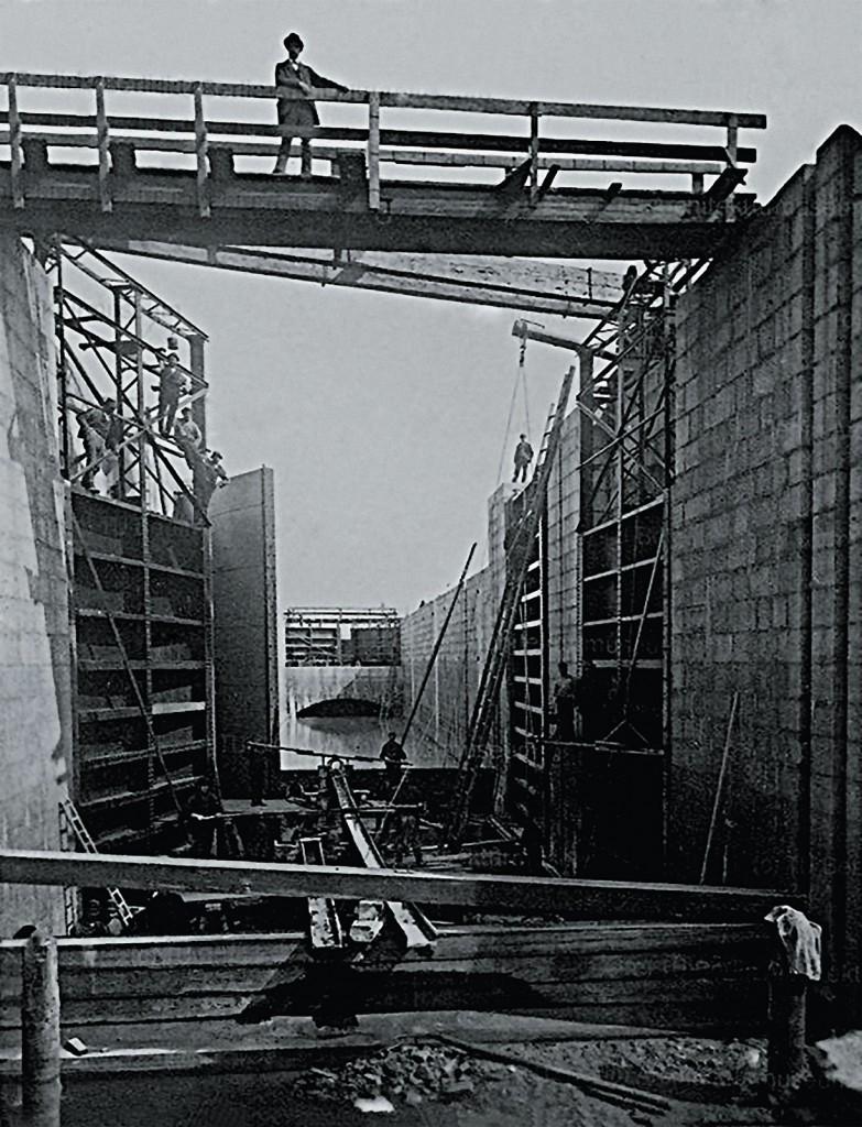 Budowa Śluzy Miejskiej