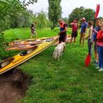 Spływ kajakowy na Oławie Fundacji OnWater.pl