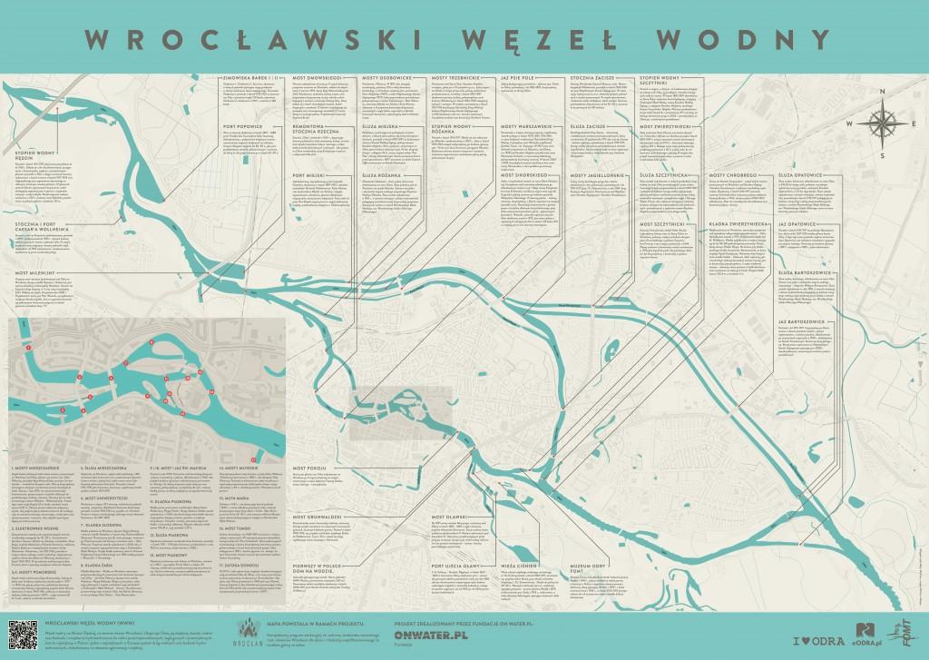 Wrocławski Węzeł Wodny mapa - Fundacja OnWater